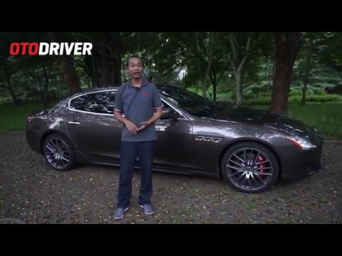 Maserati Quattroporte 2015 Review Indonesia - OtoDriver (Part 1/2)