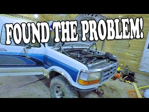 FOUND The PROBLEM! - 1993 Ford BRONCO Project