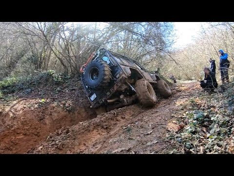EXTREME OFF-ROAD TRIP   **Land Rover Defender & Discovery & RR Classic  18-02-2018