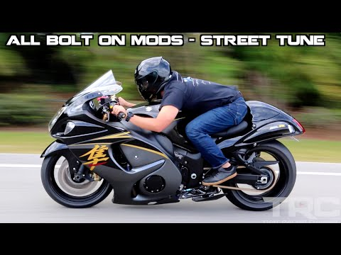 Suzuki Hayabusa battles Turbo Supra on the highway!