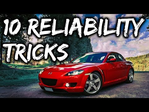 10 Ways To Make Your Mazda Rx8 More Reliable
