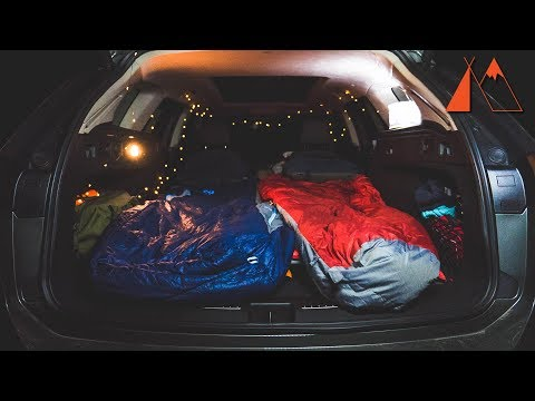 Car Camping in the Buick Regal TourX