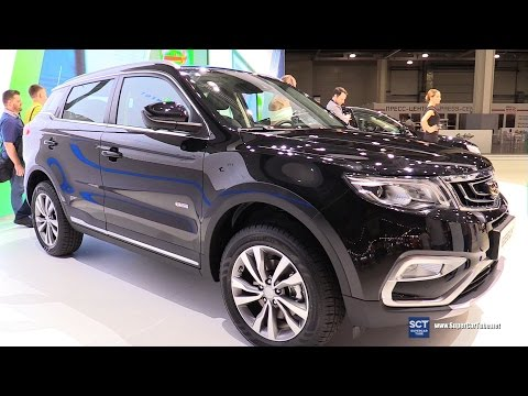 2017 Geely NL3 Crossover - Exterior and Interior Walkaround - 2016 Debut at Moscow Automobile Salon