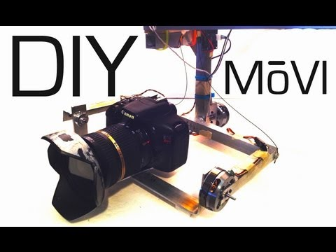 How To Use MultiWii as a Servo-Based Gimbal Stabilizer
