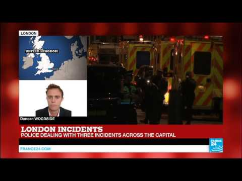 London Attacks: Several fatalities, third incident in Vauxhall