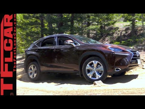 2017 Lexus NX 300h Hybrid Takes on The Gold Mine Hill Off-Road Review