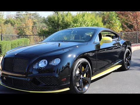 2017 Bentley Continental GT Speed Black Edition