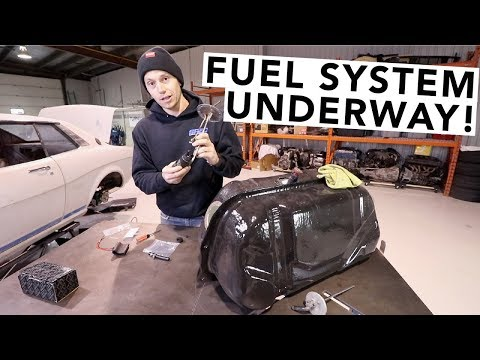 Fuel Pump & ITB Vacuum System Installed! - RA24 Toyota Celica Project - EP23