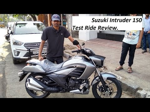FAILED Suzuki Intruder 150 Test Ride Review.