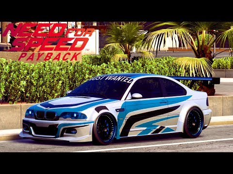 BMW M3 ORIGINALE batte le supercar - Need For Speed Payback