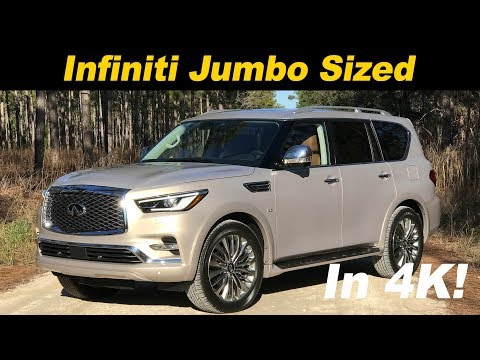 2018 Infiniti QX80 First Drive Review In 4K