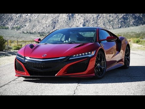 2017 Acura NSX Review - First Drive