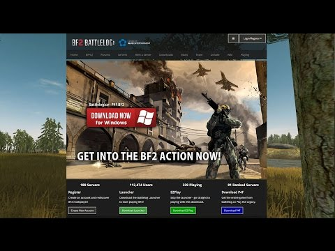 Battlefield 2 - possible to play online again