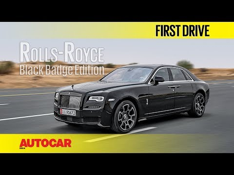 Rolls-Royce Black Badge Edition | First Drive | Autocar India