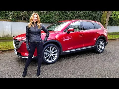 Mazda CX 9 Review--SHE REALLY LIKES IT
