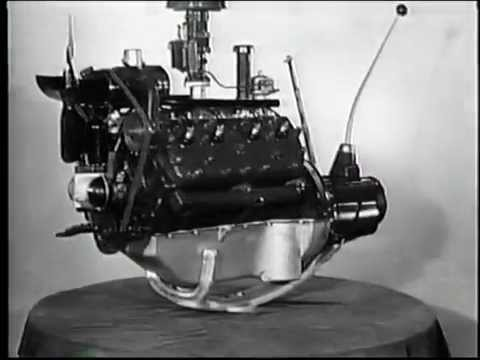 1932 - The Invention of the Ford V8 Engine