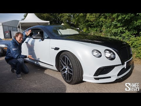 The NEW 700bhp Bentley Supersports in Action!
