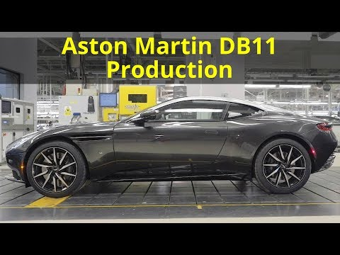 2018 Aston Martin DB11 Production