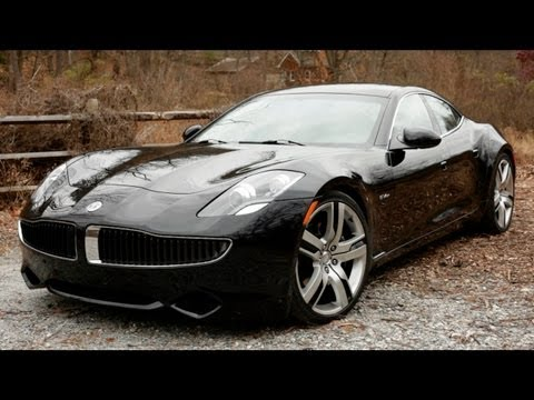 2012 Fisker Karma Electric Vehicle Review