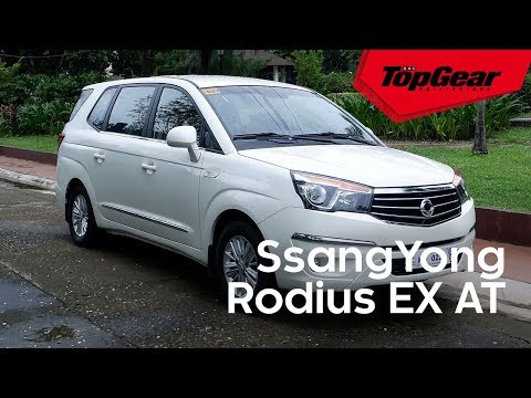 The SsangYong Rodius is an underrated people hauler