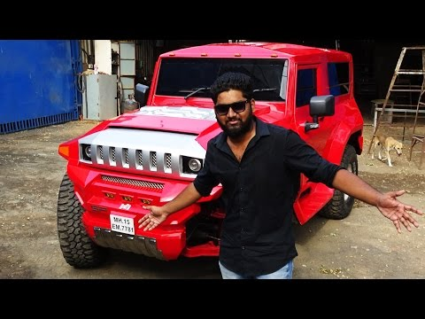 Indian Hummer-Mahindra Thar Modified 2017
