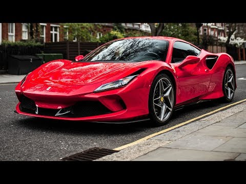 FIRST Ferrari F8 Tributo on the streets of London!!