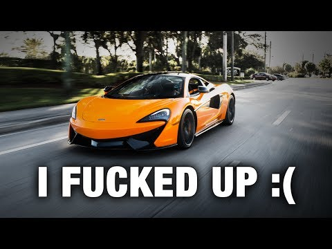 NEVER BUYING A MCLAREN AGAIN - HERE
