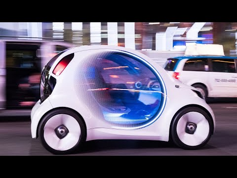 Mercedes-Benz Smart Vision EQ concept first ride