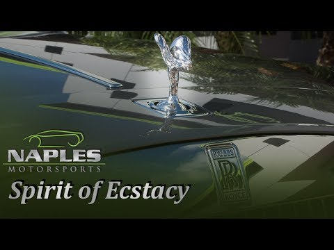 Can You Steal The Spirit of Ecstasy on a Rolls-Royce Wraith? BONUS SLOW MOTION