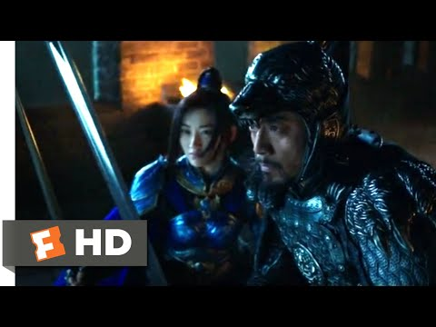 The Great Wall (2017) - Nighttime Trap Scene (5/10)   Movieclips