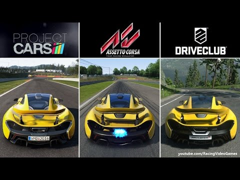Project CARS Vs Drive 2 Years Ago