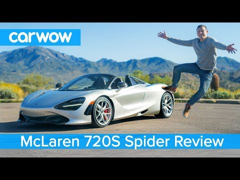 McLaren 720S Spider 2020 review - see why it's the ULTIMATE convertible supercar!