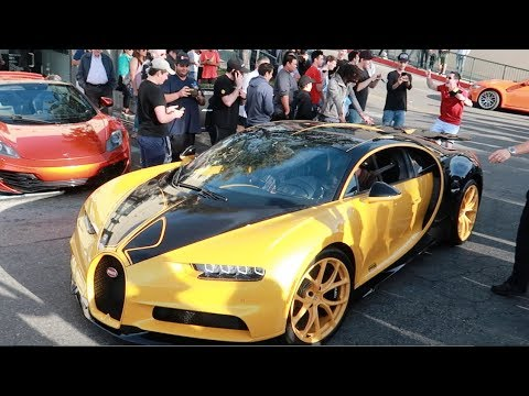 People LOSING it over the $4 MILLION Bugatti Chiron! (Hilarious)