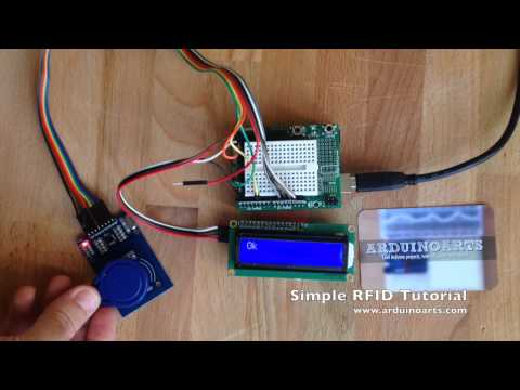 Interfacing of RFID RC522 with Arduino - The