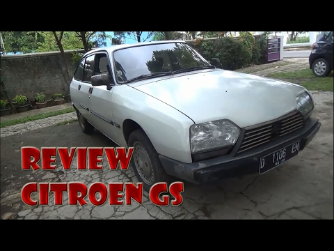 Review & Test Drive Citroën GS Tahun 1990
