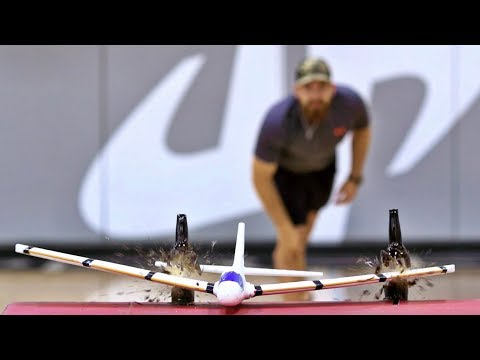 Airplane Trick Shots | Dude Perfect