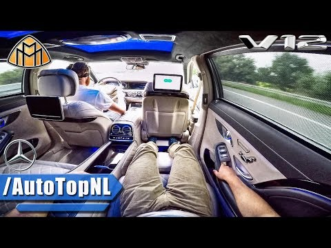 MERCEDES S CLASS MAYBACH S600 V12 PASSENGER POV ALL FEATURES GADGETS & TOP SPEED by AutoTopNL