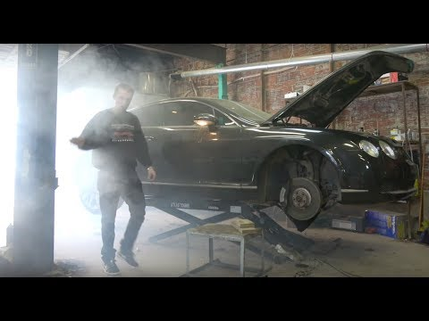 The Cheapest Bentley Continental GT in the USA Goes Up in Smoke, and other project updates.
