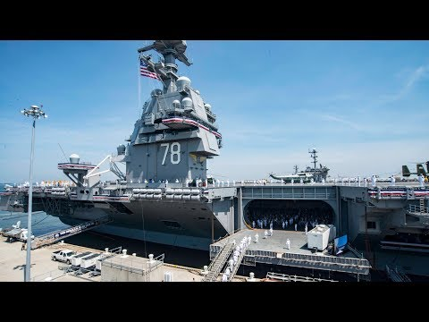 USS Gerald R. Ford (CVN 78) Commissioning Ceremony