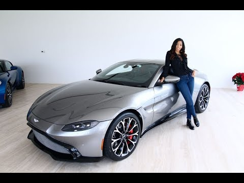 First Look At The 2019 Aston Martin Vantage With Britt Waters