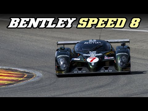 Bentley Speed 8 with loud backfire at Spa Classic 2018