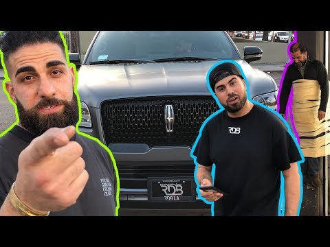 #RDBLA New Navigator, Stolen Maserati, Red C63S AMG & Moses gets tied up!