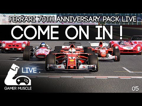 Assetto Corsa - Ferrari 70th Anniversary Pack - EVERY CAR TESTED AND REVIEWED LIVE !