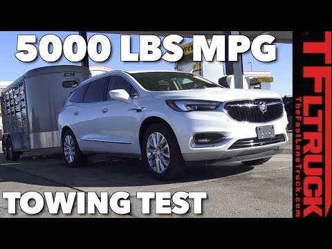 Will it Tow 5000 LBS? 2018 Buick Enclave Towing Test