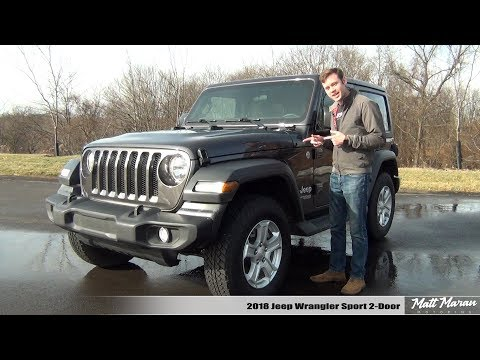 Review: 2018 Jeep Wrangler Sport - I Drive It 650 Miles!