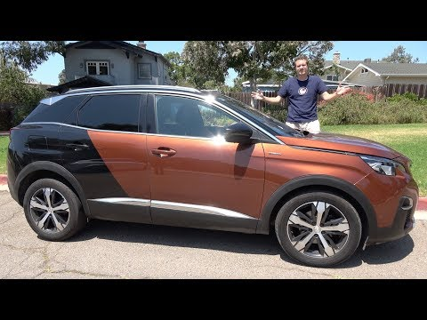 The Peugeot 3008 Is the Weird Crossover You Can