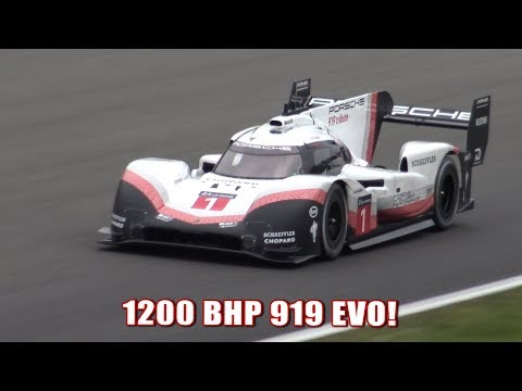 "|Lap Record!| Porsche 919 EVO ""Tribute"" At Spa Francorchamps"