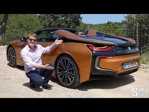 THIS is the New BMW i8 Roadster!   FIRST DRIVE
