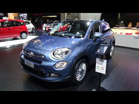 2017 Fiat 500X Lounge - Exterior and Interior - Auto Show Brussels 2017
