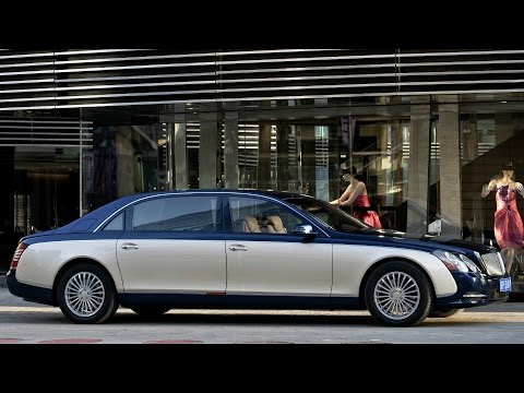Maybach 62‏ Interior, Exterior and Drive